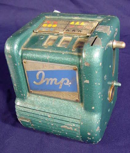 1525: Coin Operated IMP Gambling Machine NR