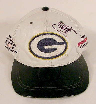 1517: Tiger Woods Autographed Packer Hat NT