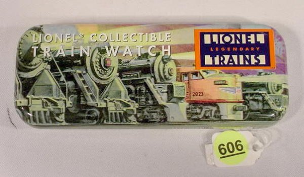 606: Lionel Collectable Train Wrist Watch  NR