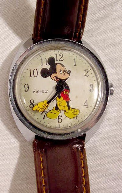 609: Timex Electric W.D.P. Mickey Mouse Wrist Watch  NR - 2