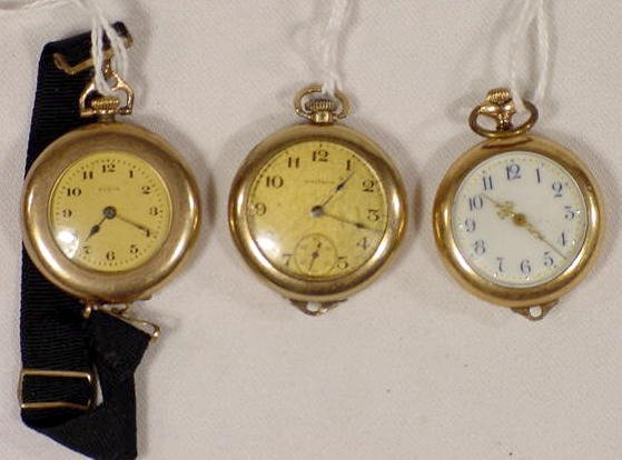 615: 3 Ladies Convertible Watches  NR