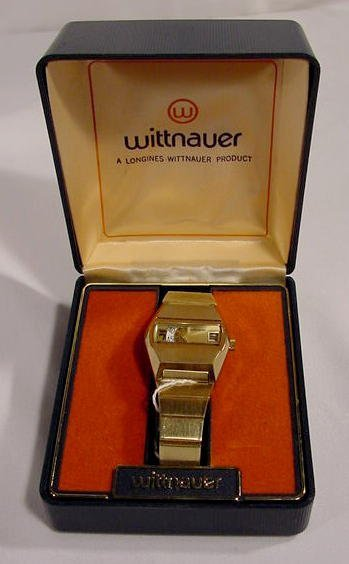 619: Longines-Wittnauer Automatic Wrist Watch with Box