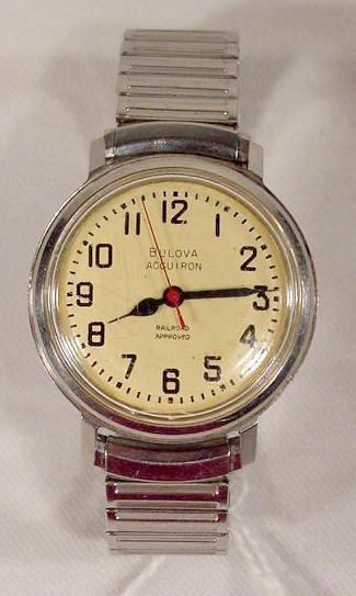 623: Bulova Railroad Approved Accutron Wrist Watch  NR