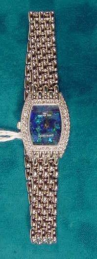 688: Pierre Cardin Australian Opal  Ronda Ladies Watch