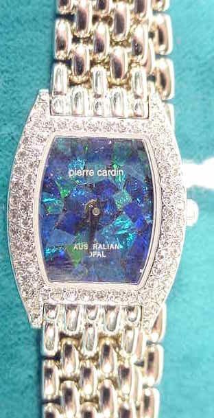 688: Pierre Cardin Australian Opal  Ronda Ladies Watch  - 2