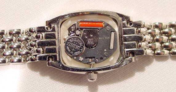 688: Pierre Cardin Australian Opal  Ronda Ladies Watch  - 7