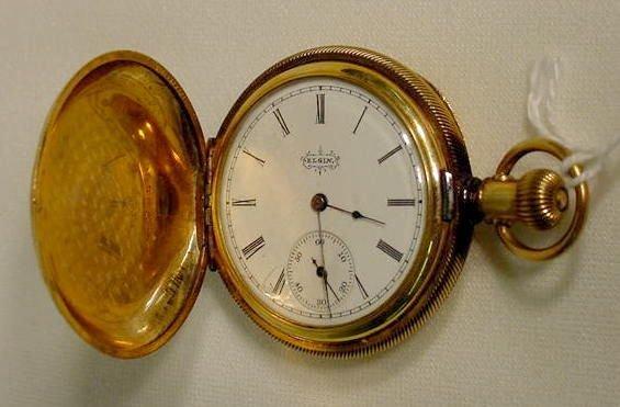 612: Elgin 6S H.C. Pocket Watch NR