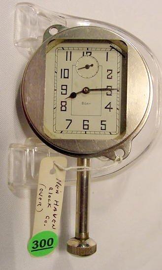 New Haven Studebaker President Car Clock NR
