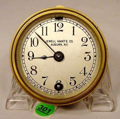 Jewell Man 'F.G. Car Clock by Chelsea Clock Co. NR