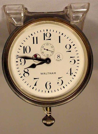 8 Day Waltham Car Clock , Made in USA NR