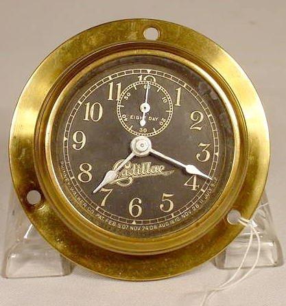 1912 Cadillac Car Clock by Phinney Walker NR