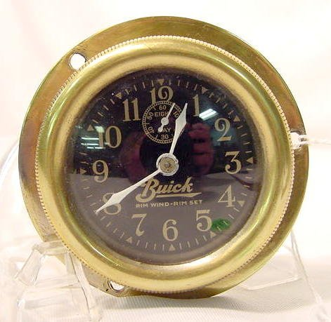 8 Day Buick Car Clock NR