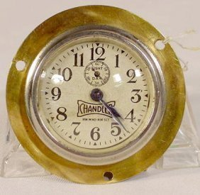 8 Day Hupmobile Car Clock By Chandler NR