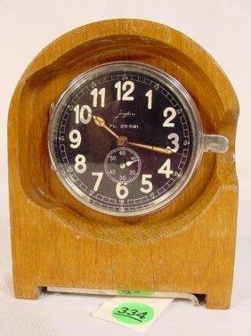 Junghans Car Clock For Eigentumder Luftwaffe NR