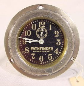 8 Day Pathfinder Car Clock NR