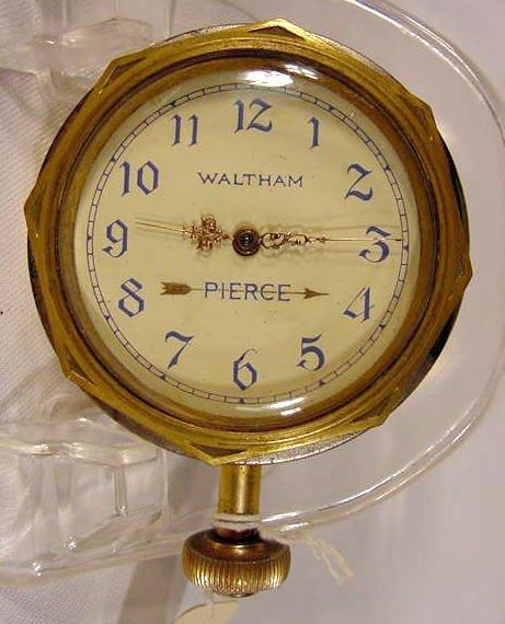 1925 Pierce Car Clock by  Waltham, USA NR