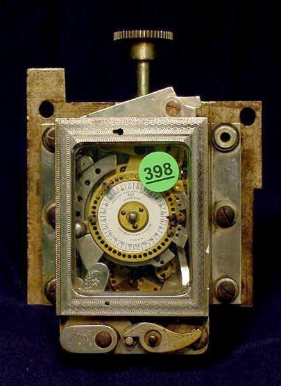 Cons'L'D Time Lock Co. Clock NR
