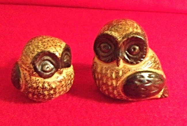 Hand Made Rustic Owls