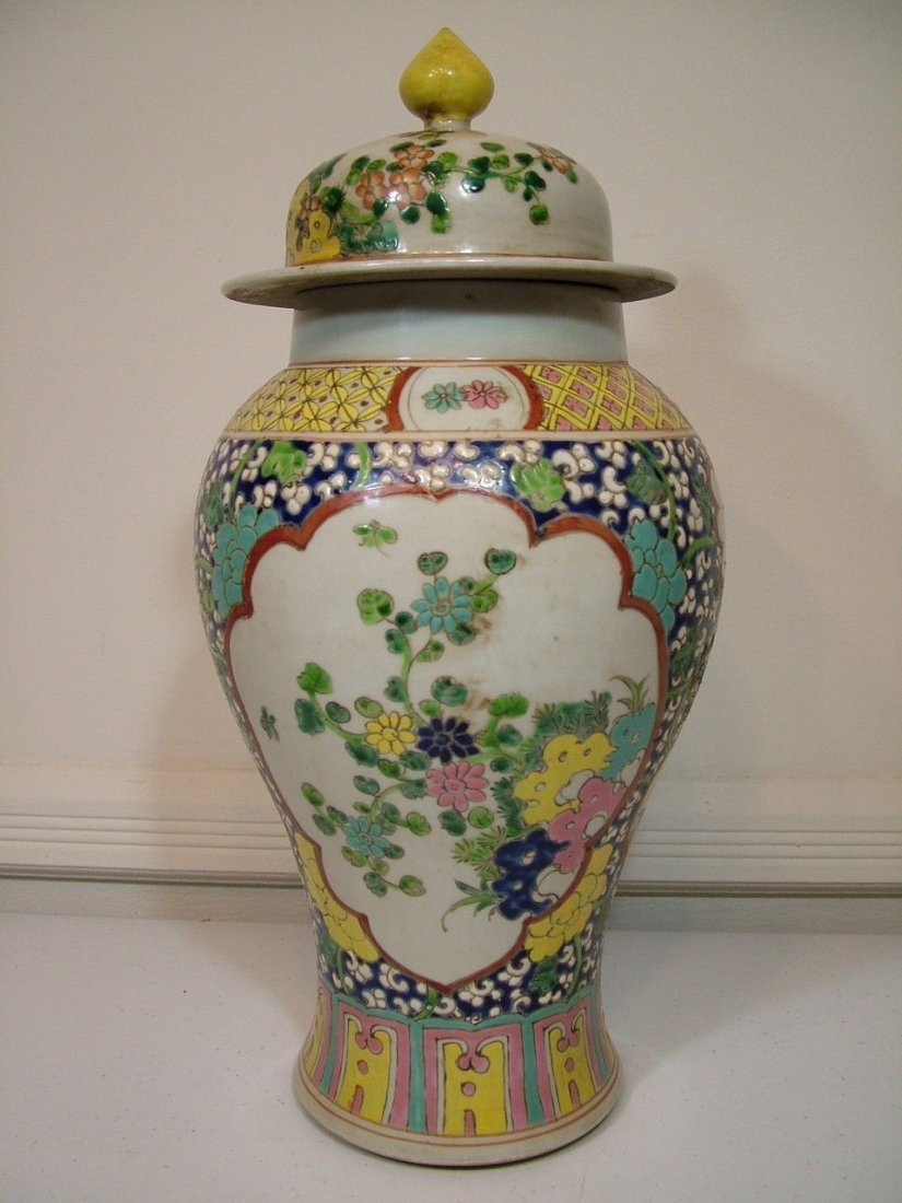 An Important and Large Chinese Yongzheng Signed Jar