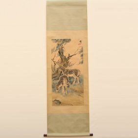 Chinese Watercolour on Xuan Paper Painting