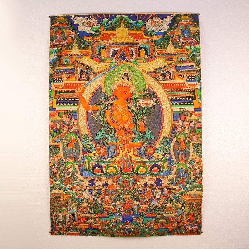 Tibetan Buddhism Kraft Thangka - Tara
