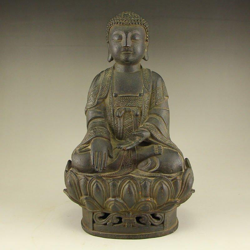 Chinese Ming Dynasty Bronze Siddhartha Buddha Statue