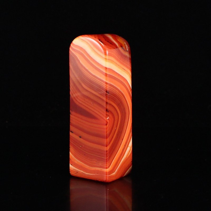 Beautiful Chinese Natural Agate Seal