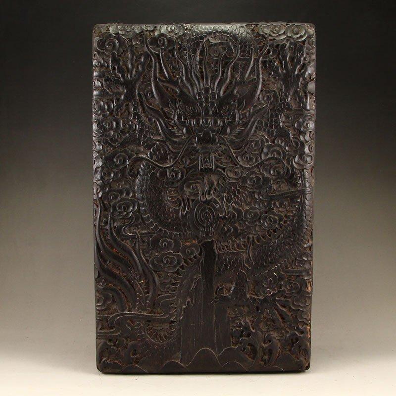 Chinese Qing Dy Zitan Wood Jewelry Box
