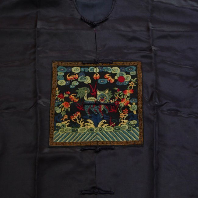 Chinese Qing Dynasty Silk Cloth Official Robe - 3