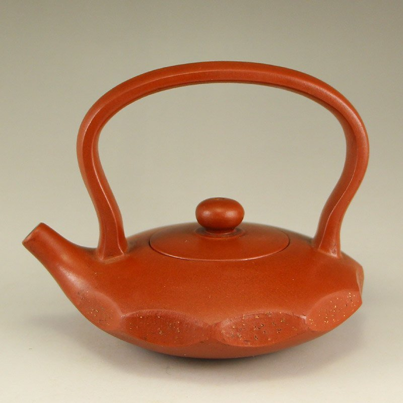Chinese Yixing Zisha Clay Teapot w Artist Signed - 4