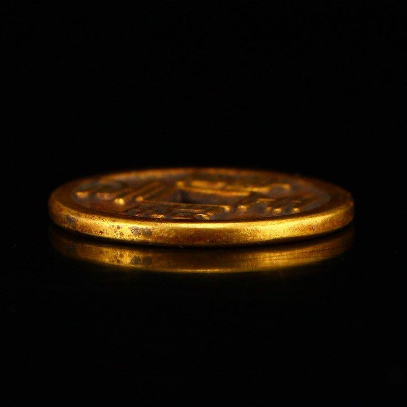 Chinese Song Dynasty Gold Coin - Tian Sheng Yuan Bao - 5