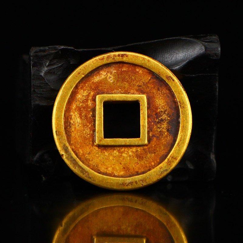 Chinese Liao Dynasty Gold Coin - Shouchang Yuanbao - 2