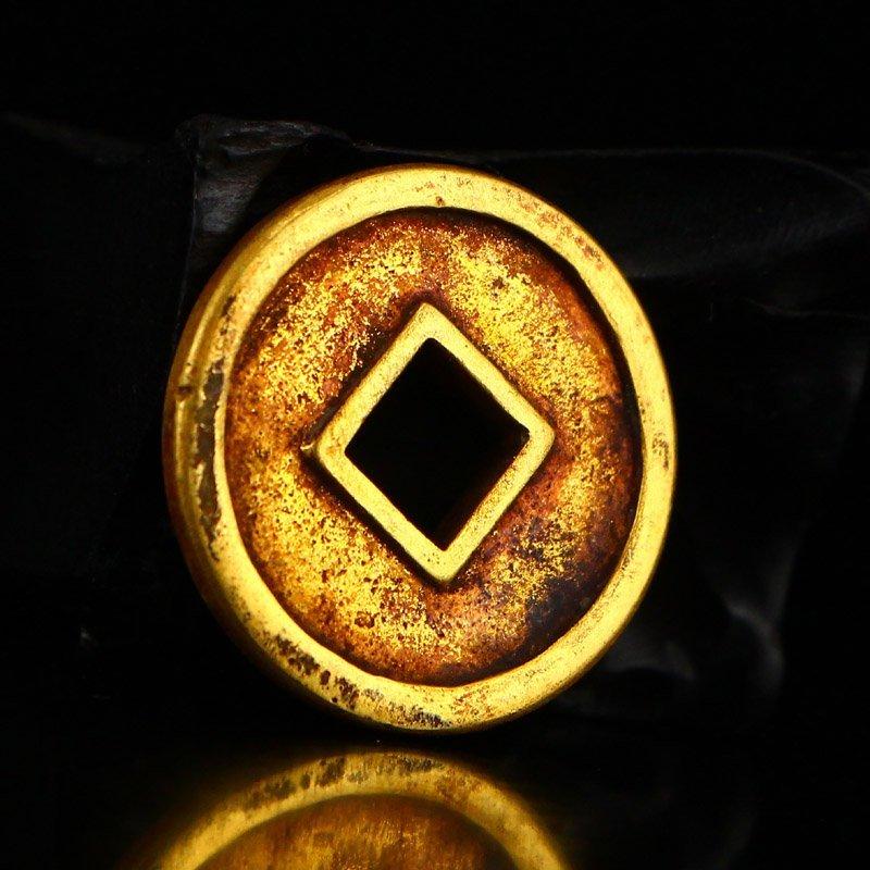 Chinese Liao Dynasty Gold Coin - Shouchang Yuanbao - 4