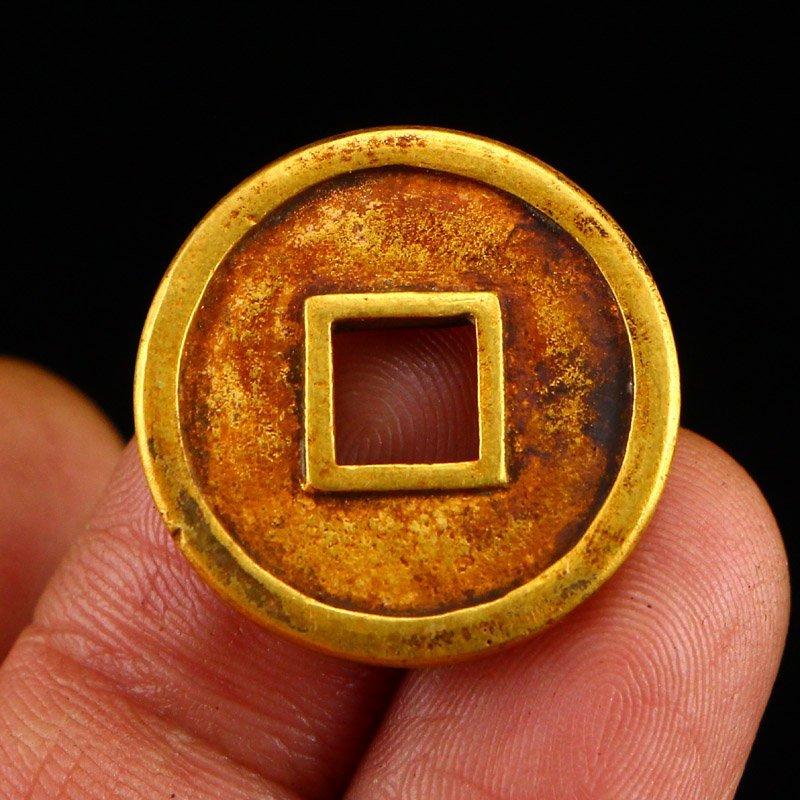 Chinese Liao Dynasty Gold Coin - Shouchang Yuanbao - 7