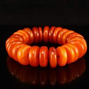 Superb Vintage Amber Beads Bracelet