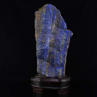 7.1Kg Natural Lapis Lazuli Original Stone Statue