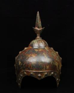 Vintage Bronze General Helmet