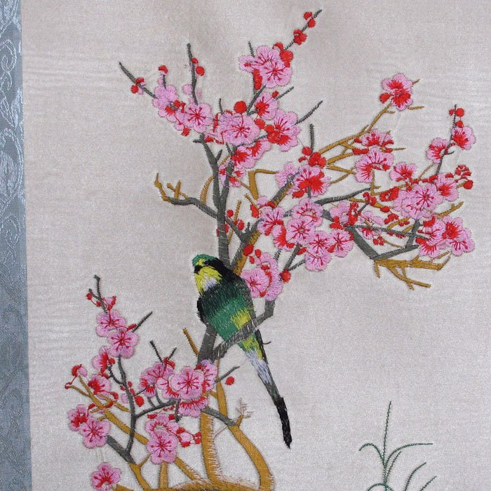 A Set Chinese Suzhou Hand Silk Embroidery Painting - 4
