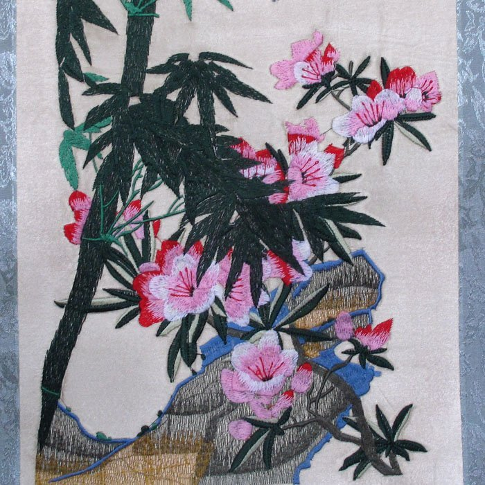 A Set Chinese Suzhou Hand Silk Embroidery Painting - 8