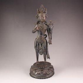 Chinese Bronze Statue - Buddha