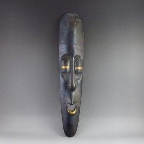 Hand Carved Thailand Bronze Mask