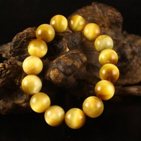 Chinese Natural Tiger Eye Stone Bracelet