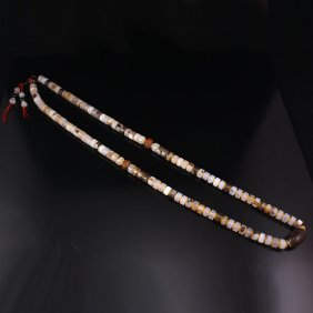 Chinese Tibet Agate Beads Necklace