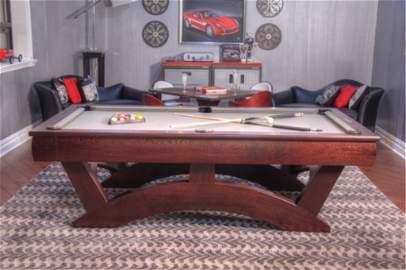 Hatch Billiards Custom Wenge Billiard Table