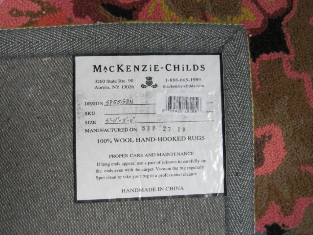MacKenzie-Childs Blooming Area Rug - 3