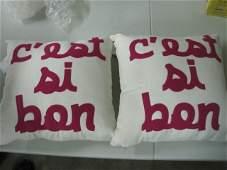 Cest Si Bon by Alexandra Ferguson Pillows