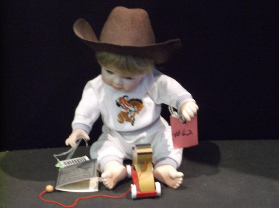 Cowboy Doll -  Made by Danbury Mint