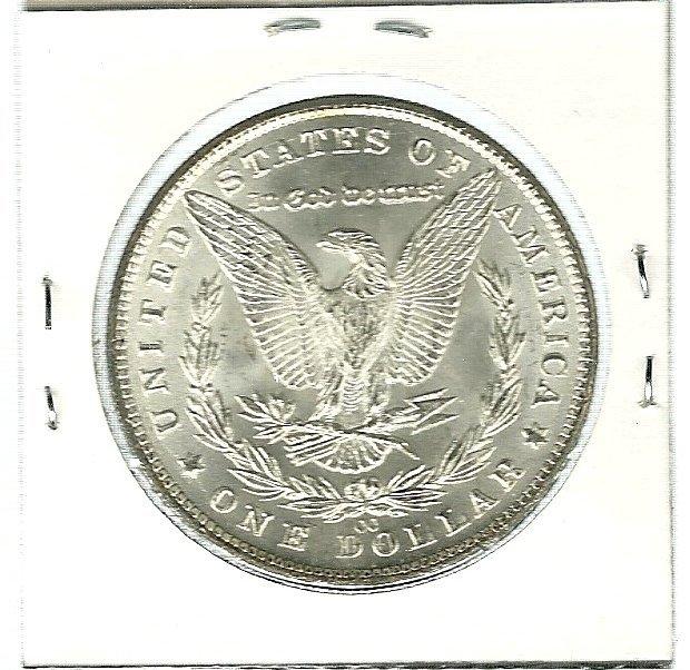 Morgan Silver Dollar 1881-CC