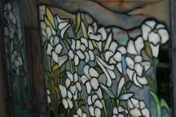 0125: Field of Lilies Window Att Tiffany/Frederick Lamb