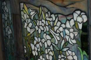 Field of Lilies Window Att Tiffany/Frederick Lamb